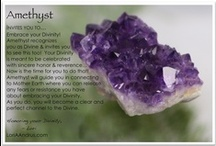 Crystal Messages / I Love crystals & stones...I'm inspired by their messages and love to share them.