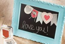 for the love of chalkboards / for the love of all things chalkboard. chalkboards. writing on chalkboards. home decor using chalkboards.