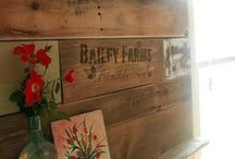 wood pallet love / wood pallet. wood pallets in home decor. wood pallet projects.