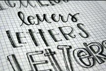 Creative Lettering / by Misty @Creative Itch