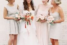 Bridesmaids / Everything for your bridesmaids and wedding party, from dresses to gifts to photo ideas! Give them the perfect jewelry to wear on the big day and for remembering the special event forever.