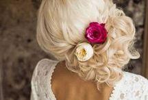 Bridal Hair & Makeup / Sophisticated, natural and glamorous bridal hair and makeup looks.