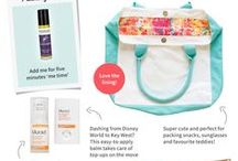 B&U Travel Kits / All the essentials you'll need to pack with you on your holiday travels! / by Bath & Unwind