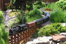 Garden - Trains