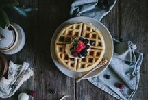 food : breakfast / recipes for the morning / by Light Rust Studio
