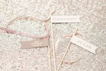 wedding [ it's all in the detail ] / wedding styling //  flowers // decor // signage // table plans // escorts cards // menus // table settings // favours