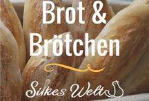 Brot und Brötchen / Alles rund um den Brot und Brötchenteig.  Herstellung und Rezepte. Ob mit Sauerteig oder Hefeteig. Hier findest du viele Ideen zum backen. #Brot #Brötchen #backen