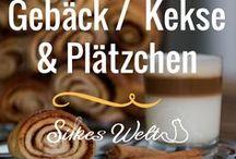 Gebäck - Plätzchen - Kekse / Rezepte rund um Kleingebäck, Plätzchen, cookies und Kekse. Egal ob zu Weihnachten und für die Kaffeetafel. #Cookies #Biskuits #kekse #gebäck #plätzchen