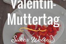 Valentinstag / Muttertag / Rezepte für Verliebte und Menschen die man liebt. Rezepte mit Herz. Valentin ist mehr als nur kaufen. Am Valentinstag kann man auch toll seiner Kreativität in der Küche freien Lauf lassen. Liebe geht durch den Magen! #Valentinstag #Muttertag #valentine