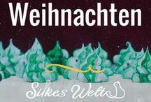 Weihnachten - Christmas / Weihnachtszeit, schöne Zeit. Traditionelle Rezepte und auch neue, witzige Ideen. Von Bûche de Noël über Cookies / weihnachtsplätzchen bis zur essbaren Tischdeko.
