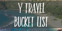 y Travel Bucket List / Our travel bucket list ideas share the places and experiences we dream of having on our travels around the world. These travel experiences are for any kind of traveler with plenty of travel tips sprinkled in to show you what to do and see when you get there.