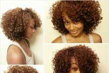 Natural Curly Love / The beauty of the natural curl.  / by Selina H