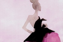 FashionIllustrationsILove / by Laurie Kaiser