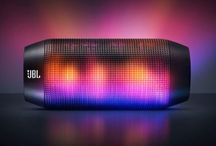 SMART SOUND / From Bluetooth & AirPlay Devices, to water resistant Smartphone Speakers with built-in battery.