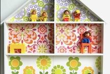 DOLLhouse / casitas de muñecas