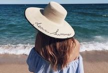 Beach inspiration / Swimwear impressions, inspiration, fabrics, places, atmospheres, moods, patterns and women