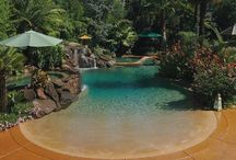 Pools & Backyard / by Mary Grinnan