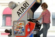 · ARCADE & GAMES · / Arcade, games, retro