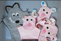 PUPPET · TITELLA / handmade puppets