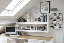 Work Spaces / Inspiring work spaces and office setups.