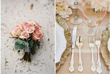 Rose gold wedding styling inspiration / Wedding Decor, stationery, fashion, anything to do with rose gold.