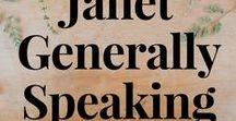 Janet Generally Speaking and Generally Weddings Blogs