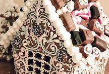 Gingerbread / Gingerbread Gingerbread houses and techniques