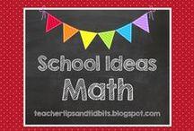 School Ideas - Math / Math ideas for the elementary teacher