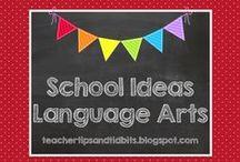 School Ideas - Language Arts / Kindergarten and lower elementary language arts ideas