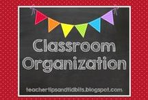 School Ideas - Organization / Organizing space and supplies in the elementary classroom