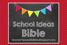 School Ideas - Bible / Bible lessons and ideas for the elementary classroom or assembly