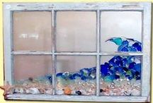 Crafts - Mosaic, Glass, China, Tiles / by Jan Horwood