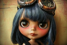 Beautiful Blythe and snuggly softies / by Caroline Hunter