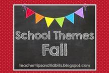 School Themes - FALL