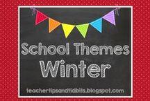 School Themes - WINTER
