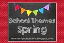 School Themes - Spring