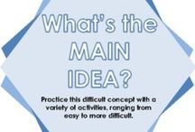 Main Idea / by Lynsey McAninch