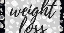weight loss / • inspiration to help me lose weight •