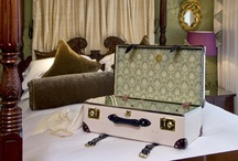 The Globe-Trotter Goring Hotel Edition / We have joined forces with Globe-Trotter to create a beautiful series of handcrafted suitcases which are unapologetically and gloriously British. The must have travel accessory for Summer 2013.
