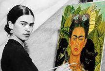 Art - Fabulous Frida / All things Frida Kahlo / by Leanne Lintula