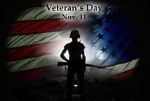 Veteran's Day / We thank all of the Veteran's out there who are and have served our country!