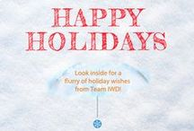 Holiday Digital Marketing Images / Print and Digital Corporate Holiday Cards