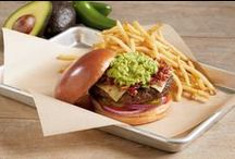 BJ's Burgers & Sandwiches / BJ's delicious and fulfilling burgers and sandwiches. With fries? Complete bliss lunch or dinner!