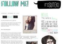 My Blogger: Follow me!! :D