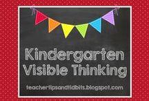 Kindergarten Visible Thinking / Visible Thinking ideas for the Kindergarten classroom