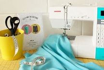 Sewing Inspiration, Tips, Etc