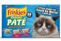 Friskies & Grumpy Cat / You could win Friskies® cat food for a year and a VIP trip for two to meet Grumpy Cat. PLUS, you can send or share a Grumpy Greeting e-card. http://petsmartsocial.com/psgc  / by PetSmart