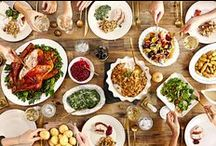 Thanksgiving / Food and drink (and a few decorations) for Thanksgiving menus