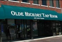 RESTAURANTS in Hickory NC Area / Hickory NC offers many wonderful places to eat and enjoy the companionship of friends and family.