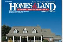 Homes & Land Magazine COVERS in Hickory NC / We use Homes & Land Magazine to market the homes we have listed for sale.    A lot has changed in real estate, yet people still love to pick up Homes & Land magazine. It is targeted to people actively buying and selling real estate in our local area.  Magazines remain popular across every age group. According to Advertising Age, 85% of all adults picked up a magazine in the last 30 days. Your home will be featured on our pages.